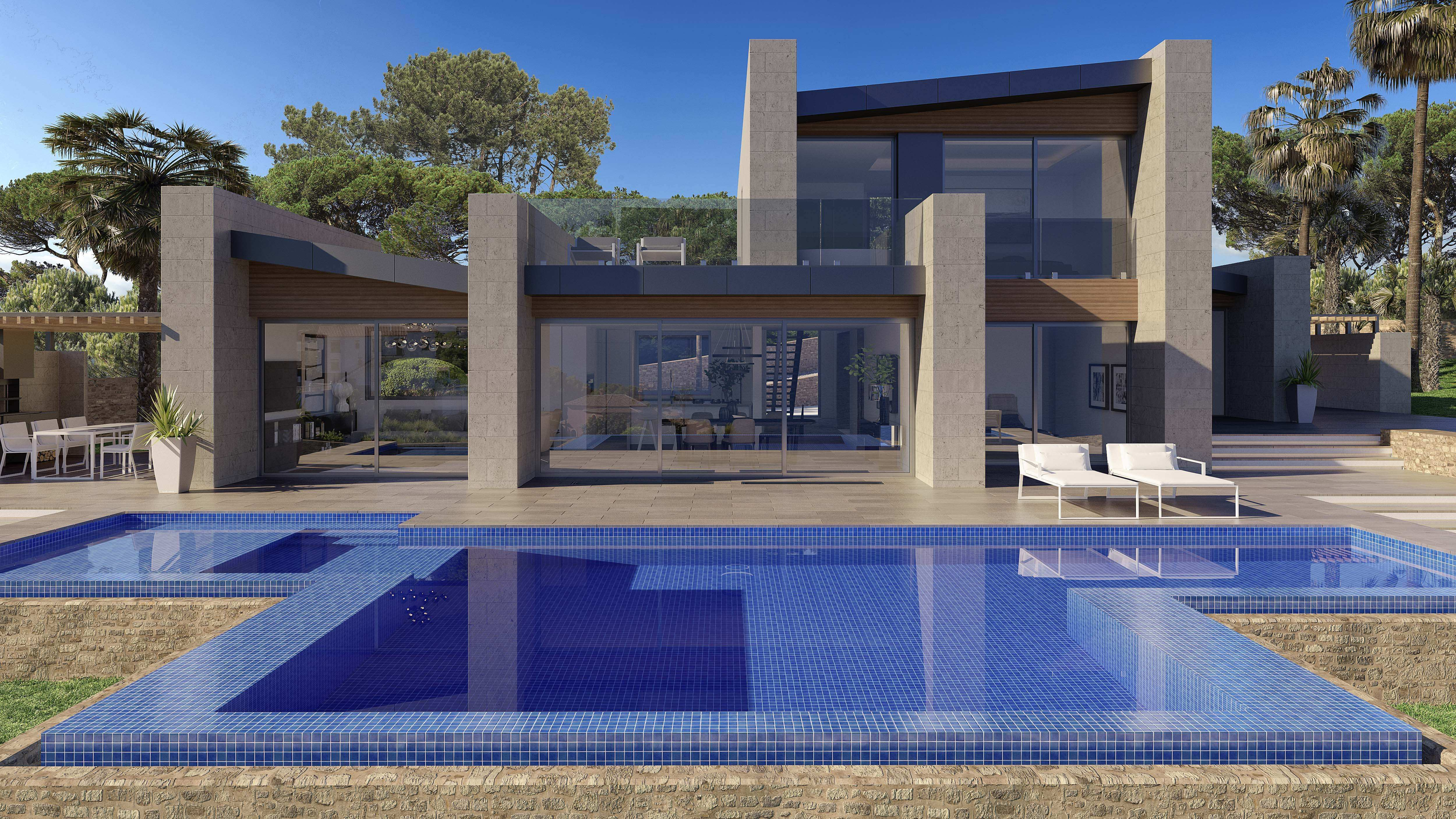 Villa for sale in Javea    Villa for sale in Javea, in the area of balcony to the sea with a wond,Spain