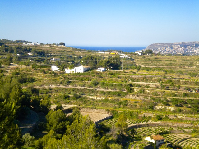 A beautiful finca plot with wide open and SEA views in Benissa, Llenes.Mains water and electricity,Spain