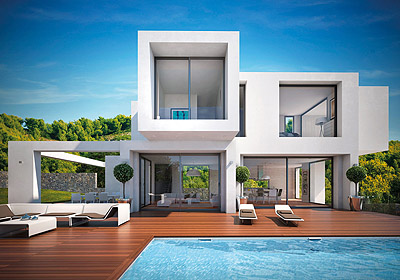 New-build properties of unusual design and remarkable quality are due to be builtin a re,Spain
