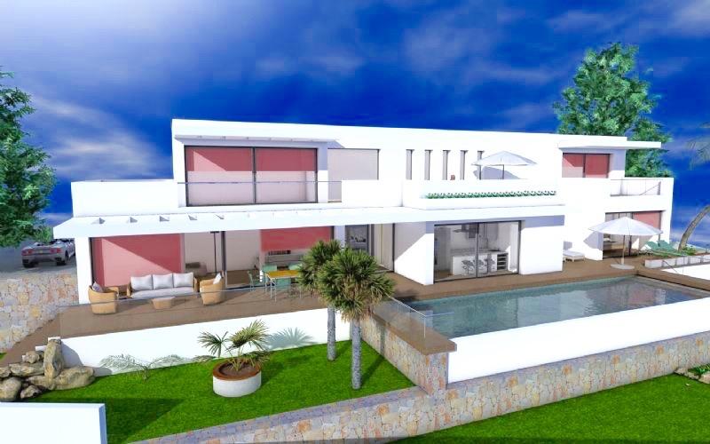 Project Villa in Moraira, Pinar del Abogat. High quality!  ,Spain