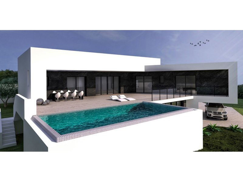 Exclusive, luxury contemporary villa to be built in Moraira only a few steps away from Solpark.Bui,Spain