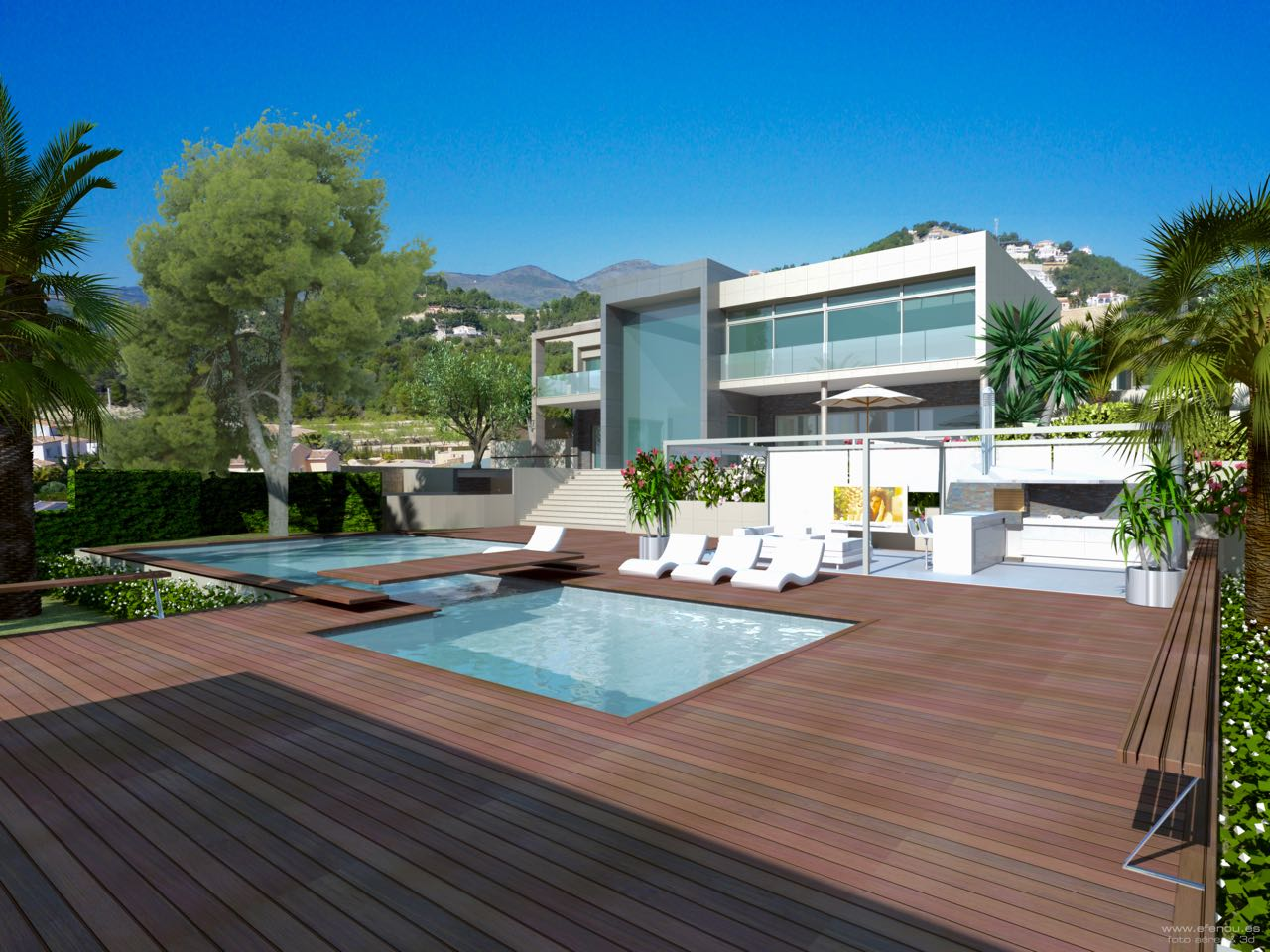 Magnificent luxury new build villa in Calpe.  , Spain