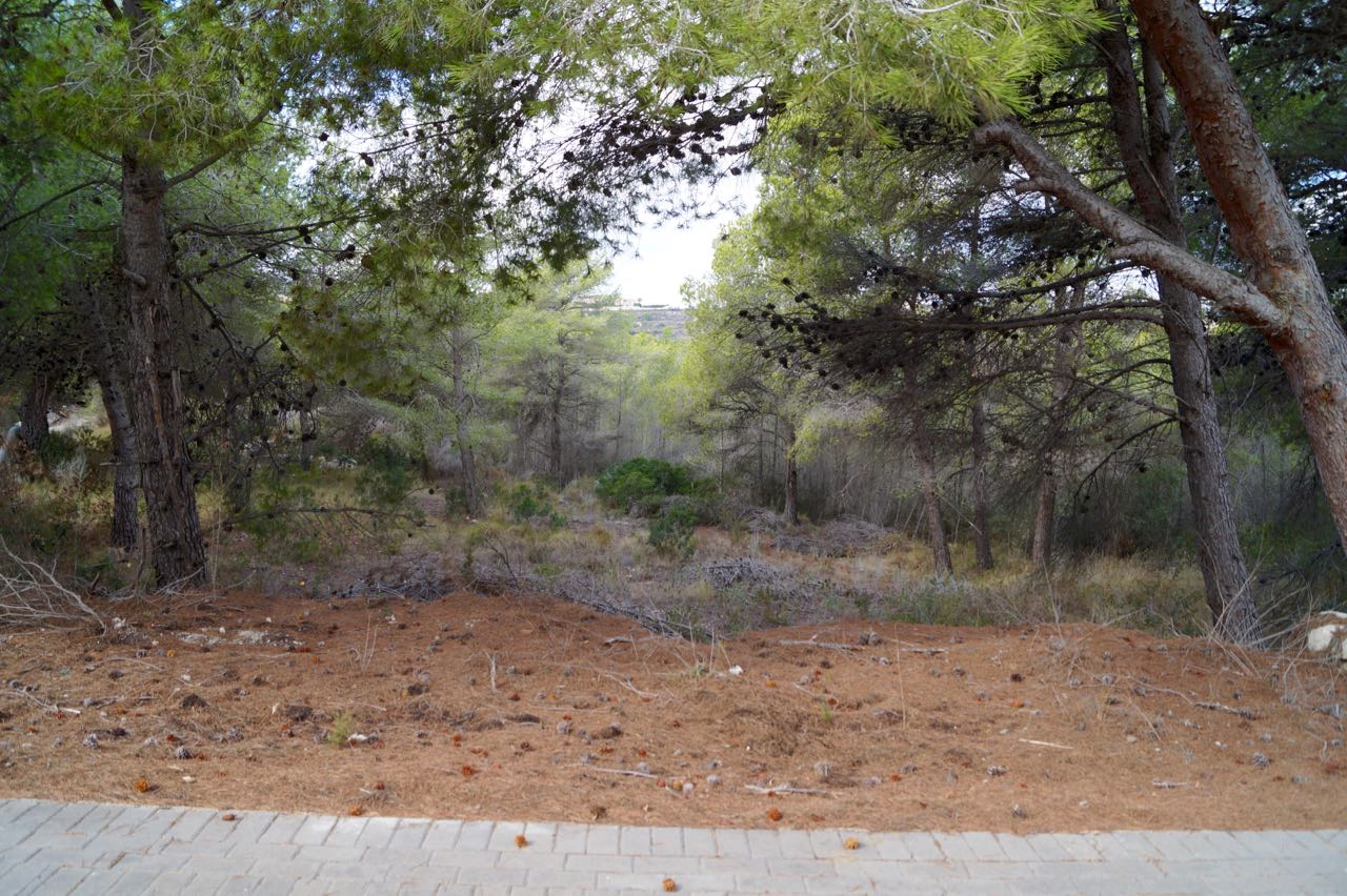 Building plot in Moraira, Benimeit.There are actually two plots. One is 800m2 and the pr,Spain
