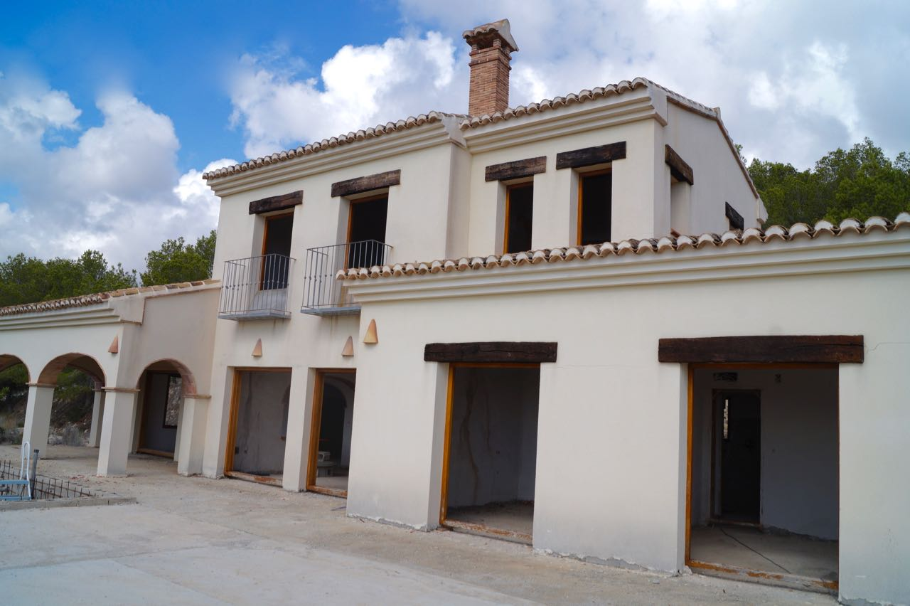This beautiful Finca with amazing views is a rare opportunity to obtain a Finca-sized plot, beauti,Spain
