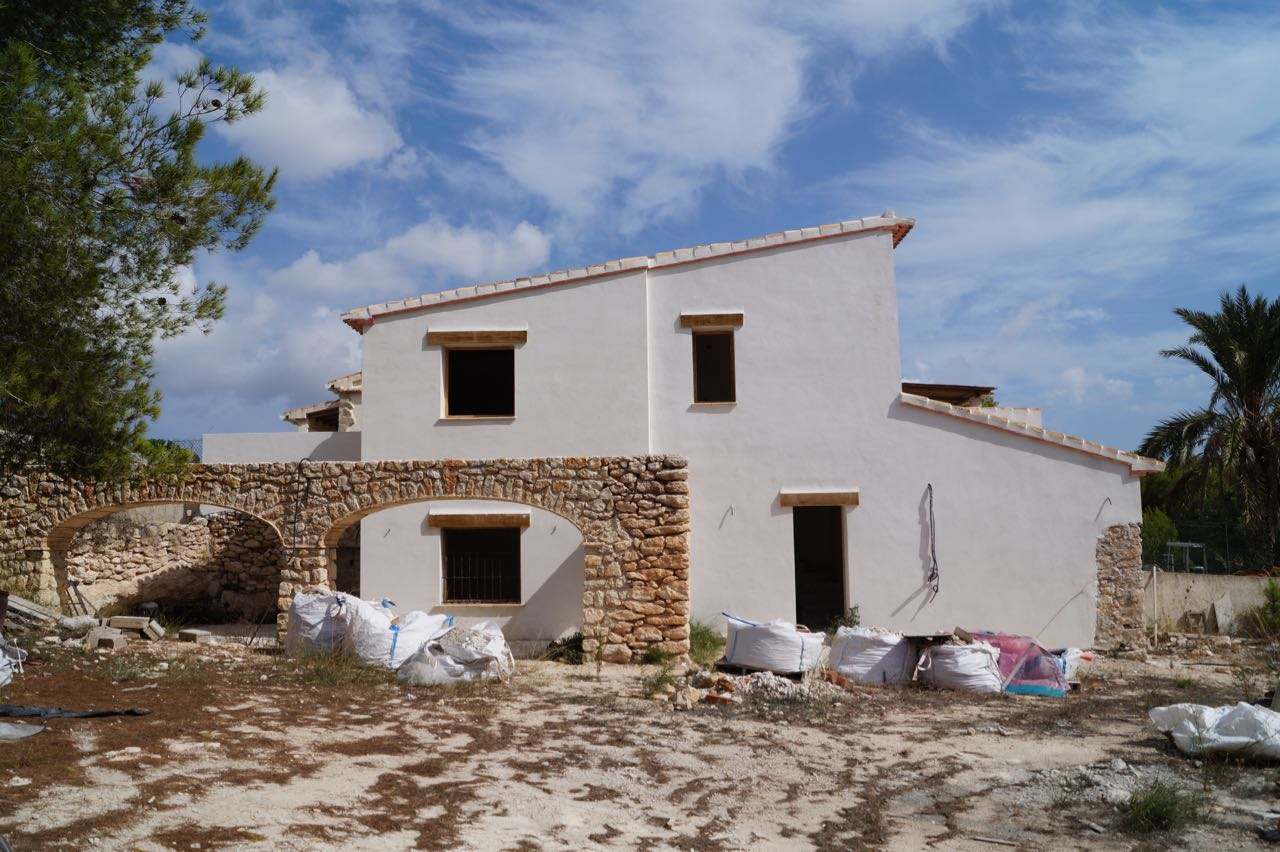 To be full refurbishedsemi-detached finca with a plot of5000m2 and a living ar,Spain
