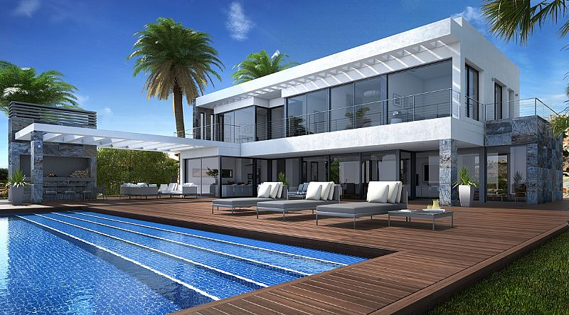 New modern construction in Benitachell, Cumbre del Sol. This new build has the highest quality fin,Spain
