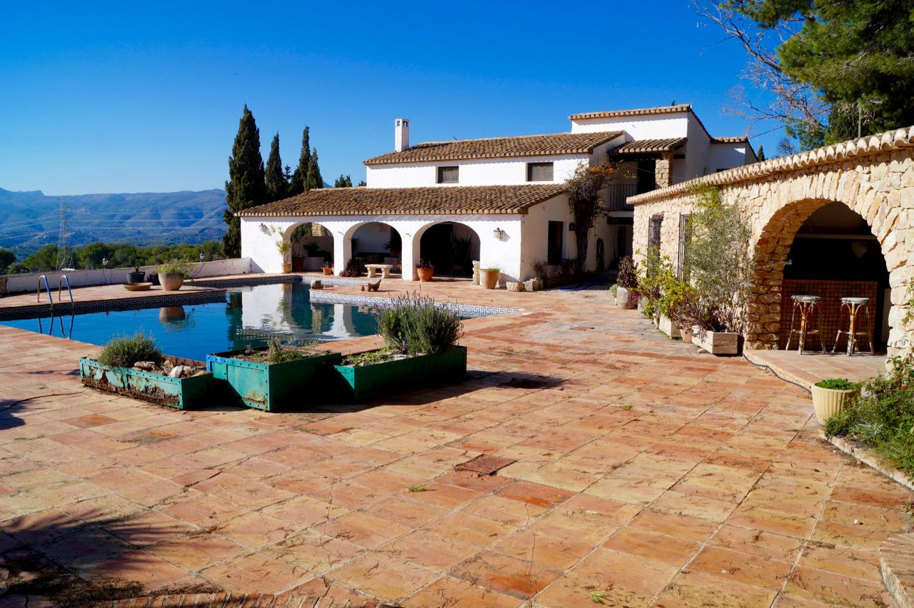 A stunningly restored 300 year old finca situated in the Pedramala area of Benissa.  This wonderfu,Spain