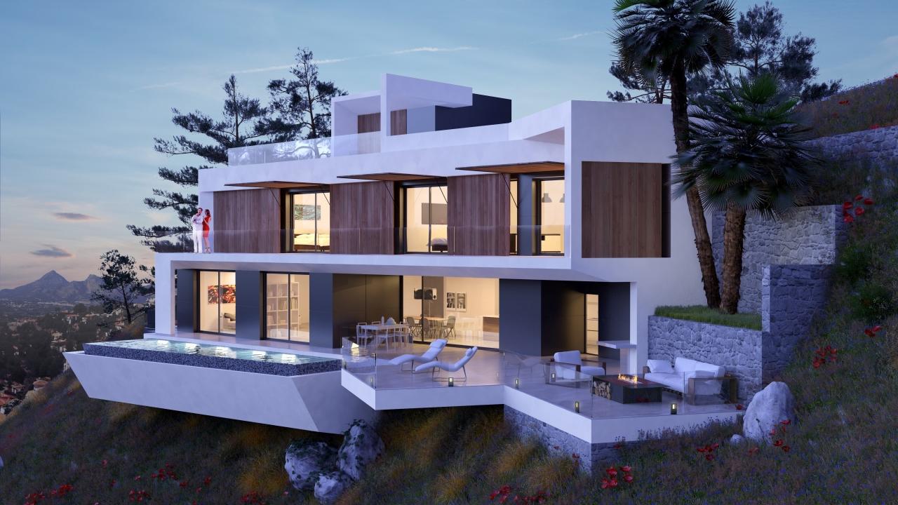 New build Villa For Sale in Altea, Alicante (Costa Blanca)