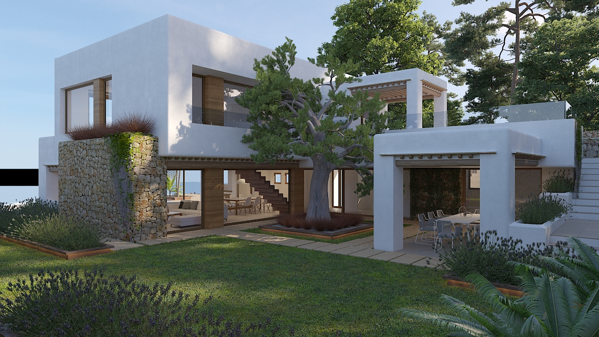 This stunning villa will be builton the exclusive urbanization of Piver, which is part o,Spain
