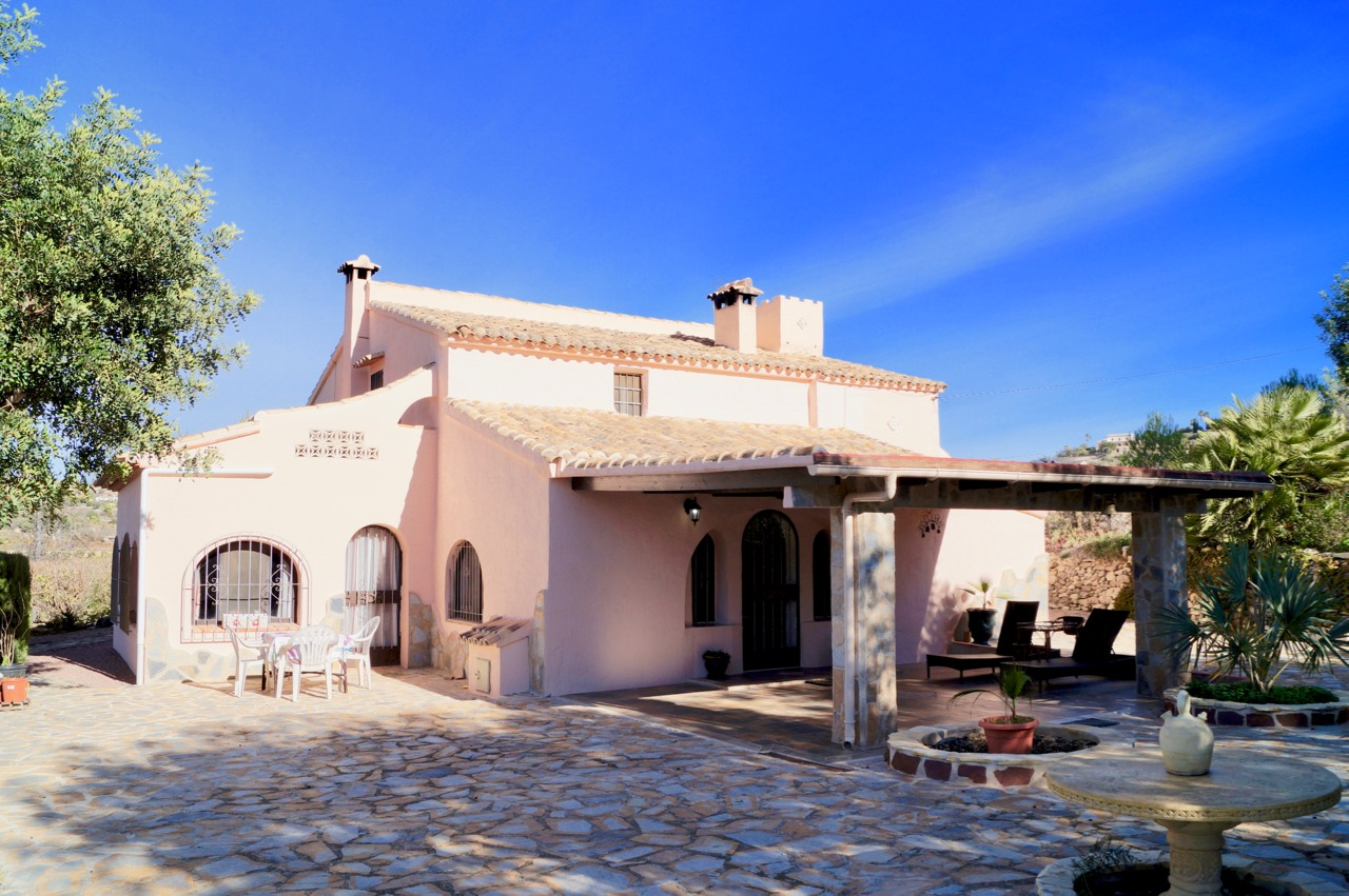 Rural country house in a quiet location in Partida Pedramala / Llenes, Benissa. The prope, Spain