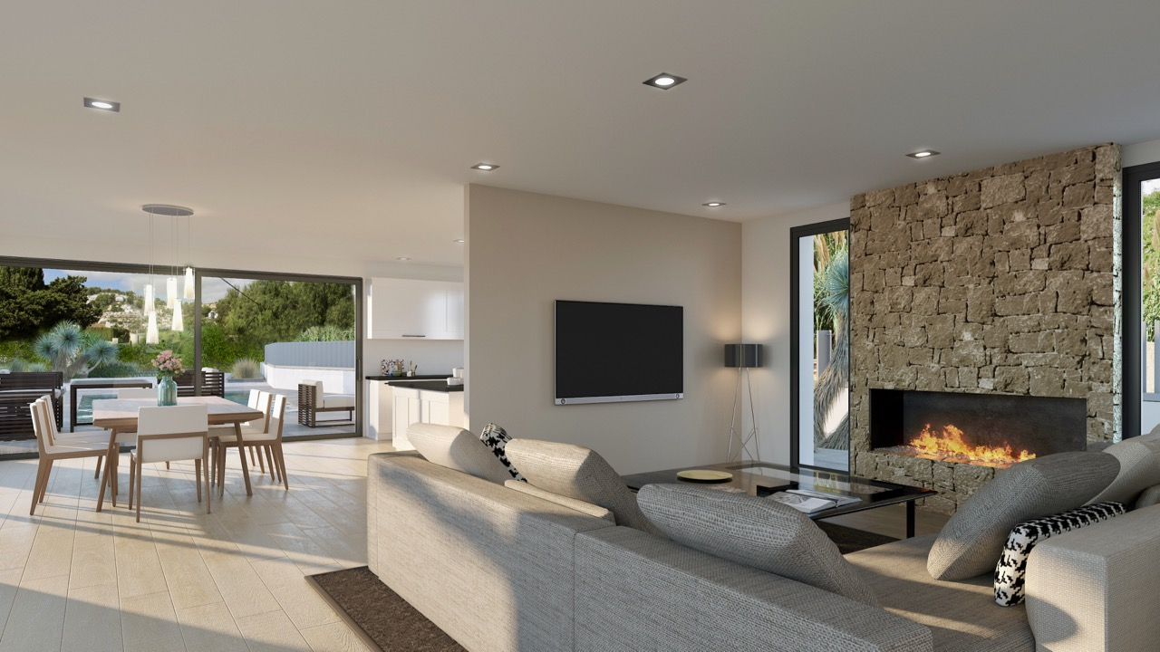 New build villas For Sale in Moraira, Alicante (Costa Blanca)