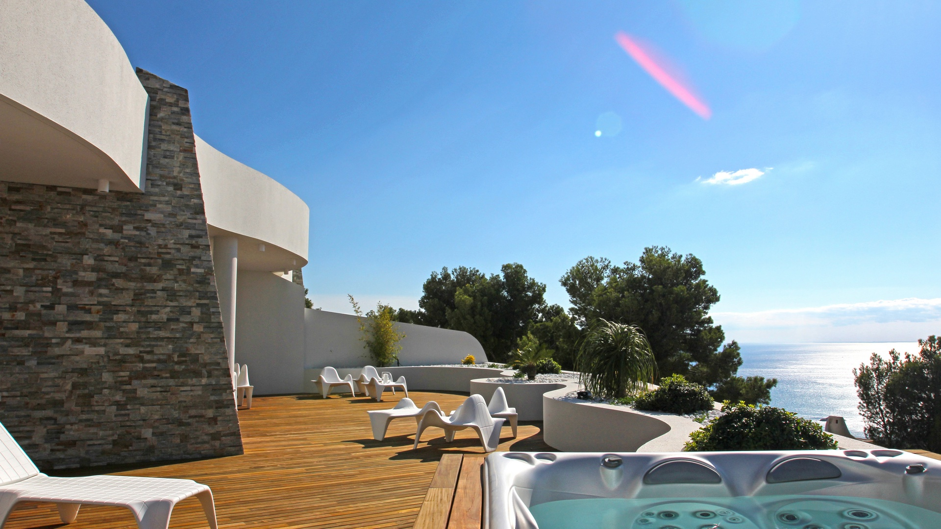 Very luxurious apartment in a closed, residential complex of 13 luxury apartments with stunning vi, Spain