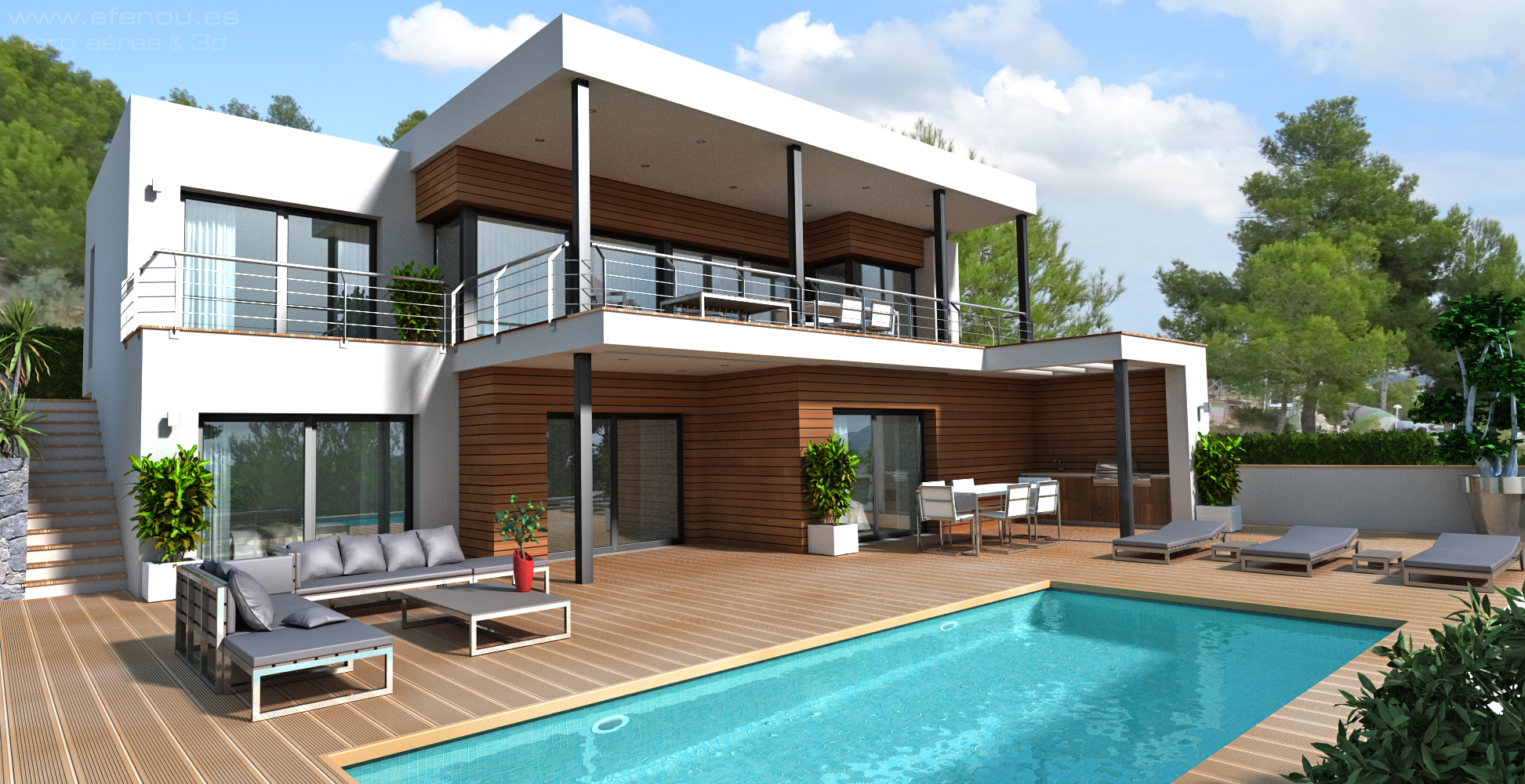 New Build Project Villa well located in Moraira, Camarrocha at just 2.5 km from the nearest beach,,Spain