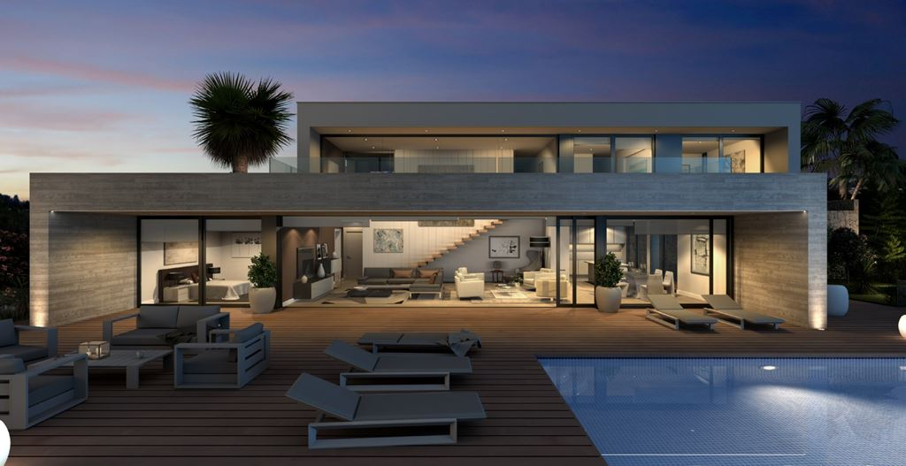 This villa is a luxurious villa in one of the best locations on Cumbre del Sol residential complex,Spain