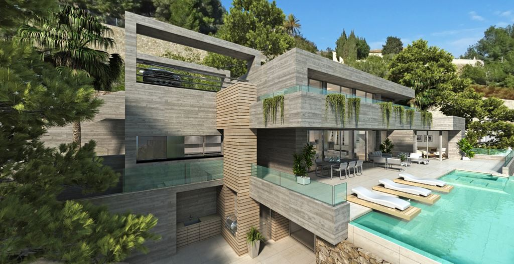 A customised exclusive development has been designed for its plot inRaco de Galeno, inte,Spain