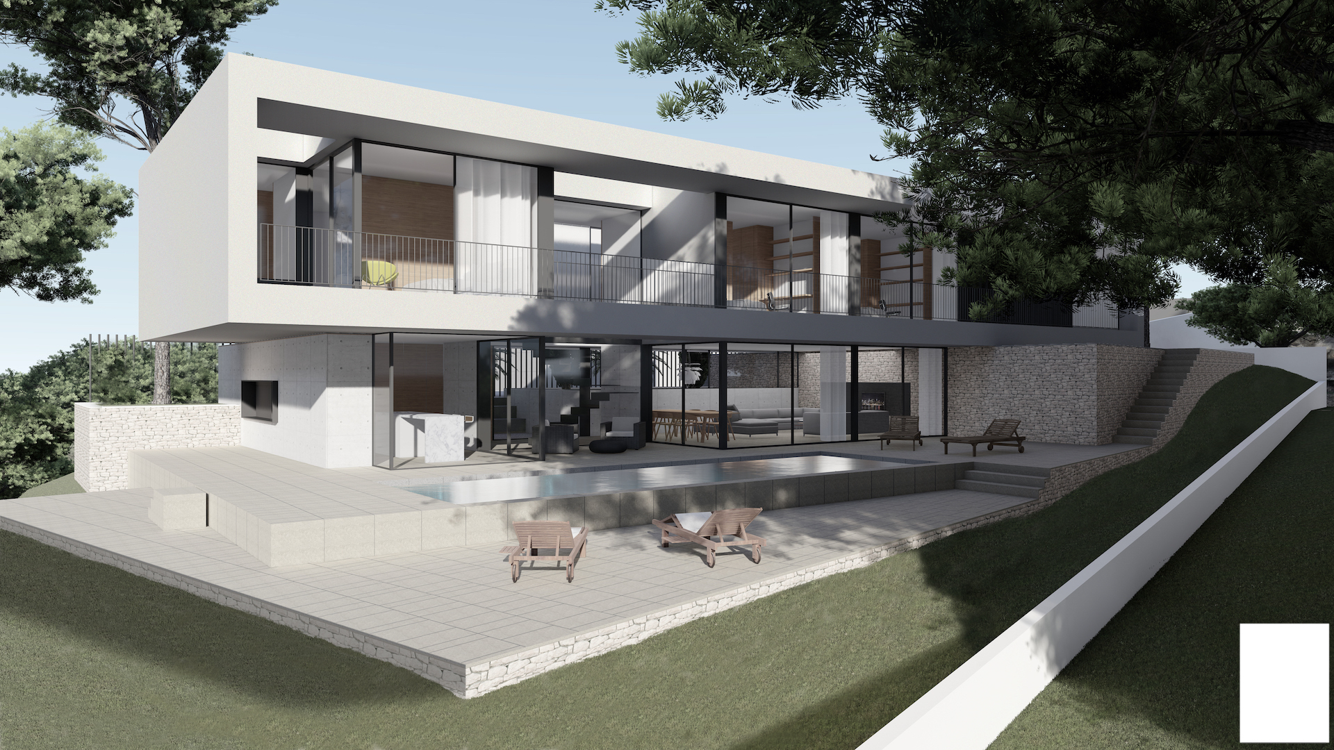 This stunning new build villa consists of 2 floors with a total construction of 253,26m2 sitting o, Spain