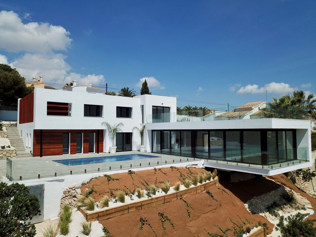 This modern property is located at a short distance from the beach of El Portet and the t, Spain
