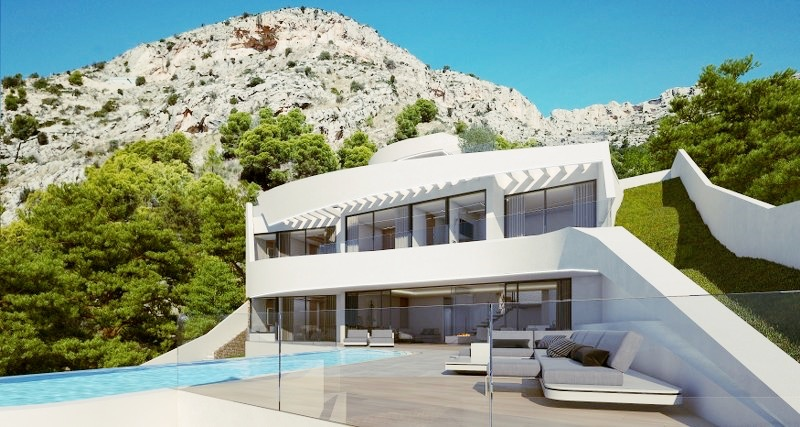 New build villas For Sale in Altea, Alicante (Costa Blanca)