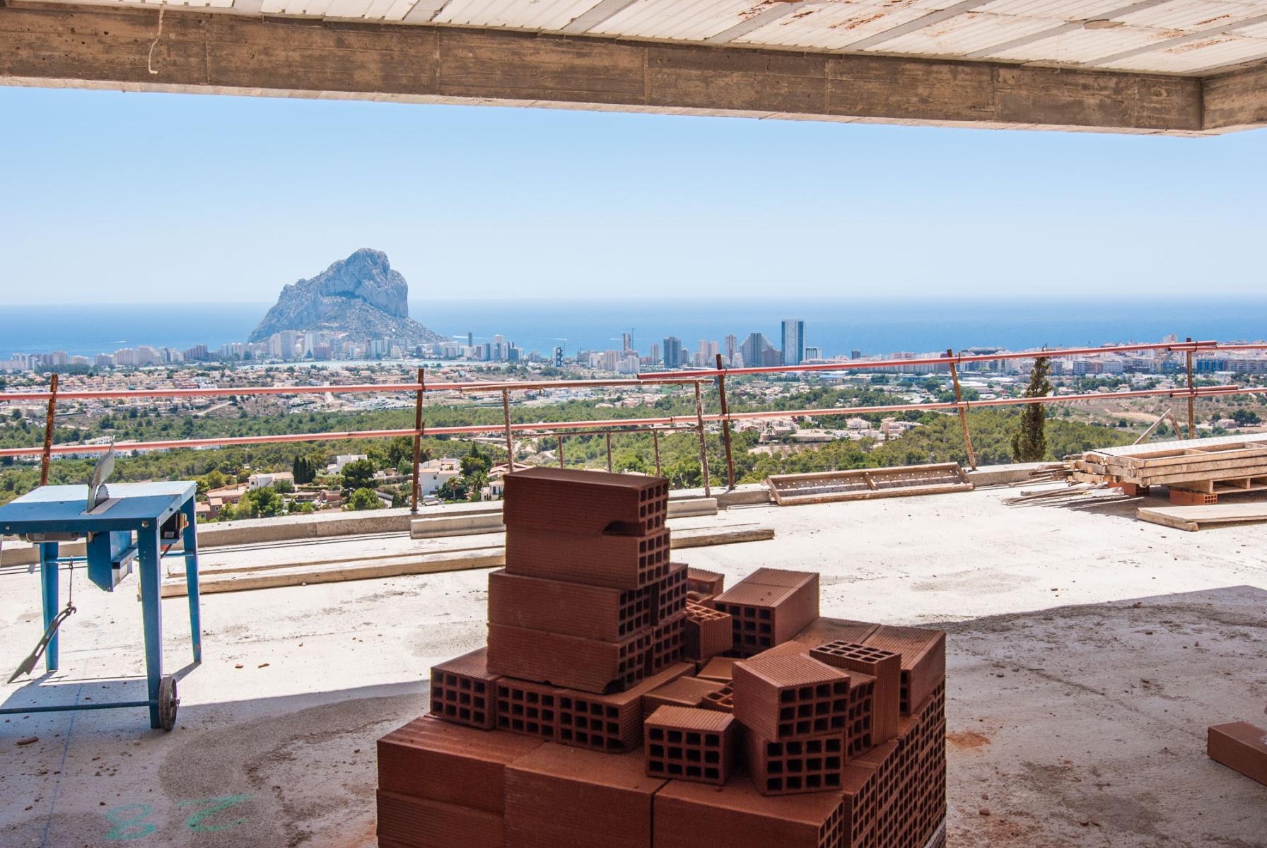 New build villas For Sale in Calpe, Alicante