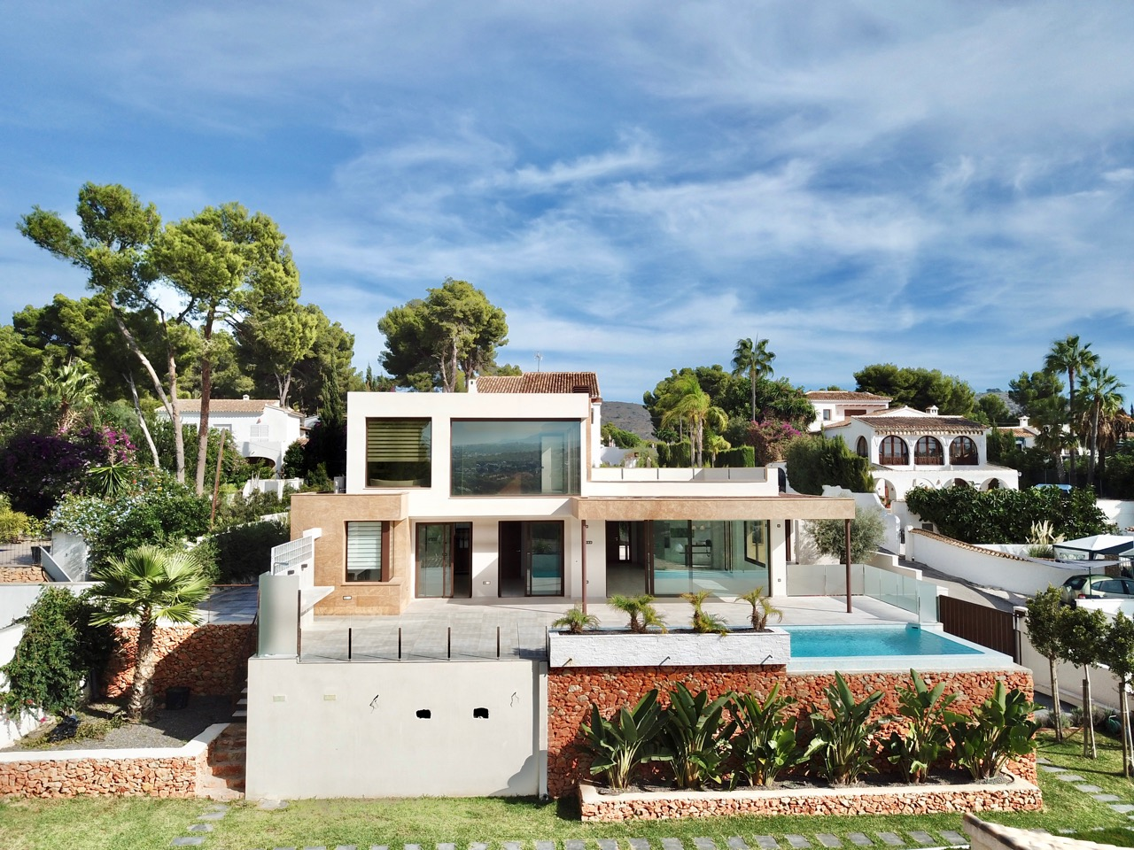 Villa For New build in Moraira, Alicante (Costa Blanca)