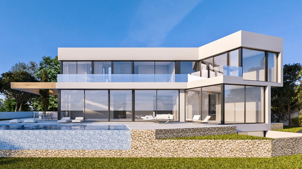 Luxury Villa in Fanadix, Benissa Costa.  New construction with amazing sea views in Fanadix, an ex, Spain