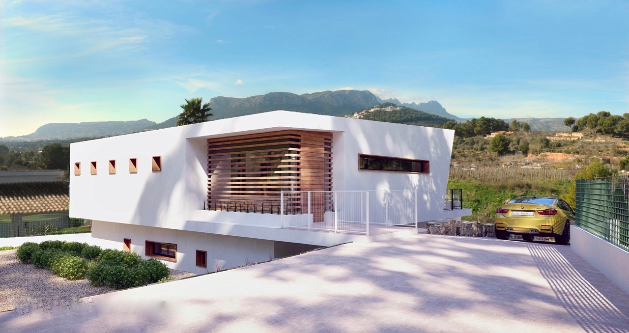 Villa For New build in Calpe, Alicante