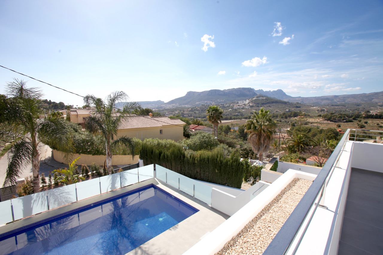 Villa For New build in Calpe, Alicante (Costa Blanca)