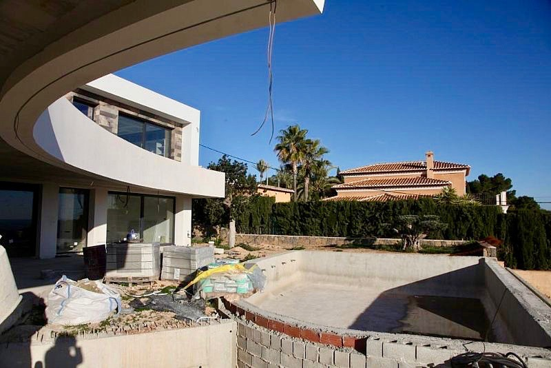 New build Villa For Sale in Benissa, Alicante (Costa Blanca)