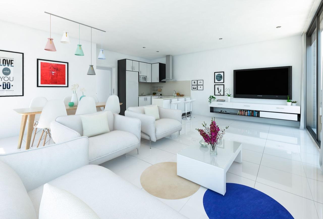 New Build Apartment For Sale in Calpe, Alicante (Costa Blanca)