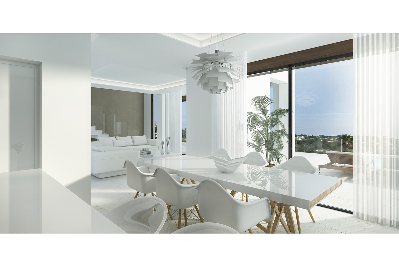 Villa For New build in Benissa, Alicante (Costa Blanca)