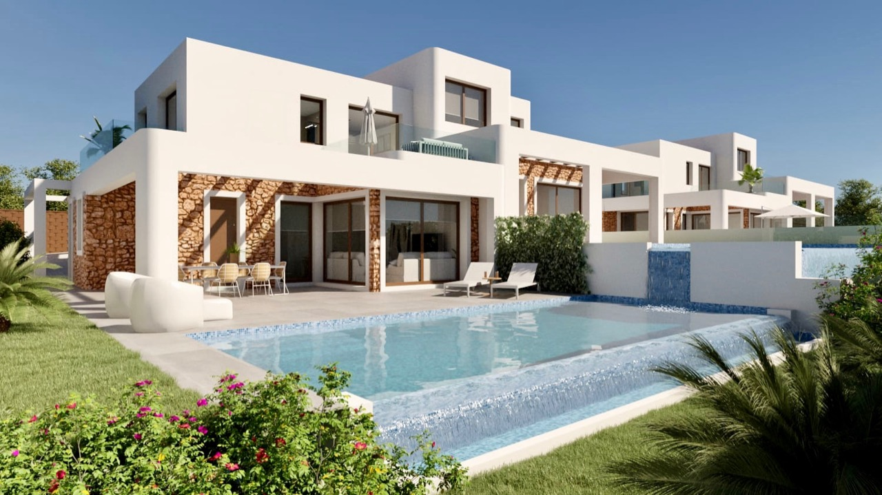 This new development of 34 semi-detached villas in Moraira is located in the Area of Paichi and cl, Spain