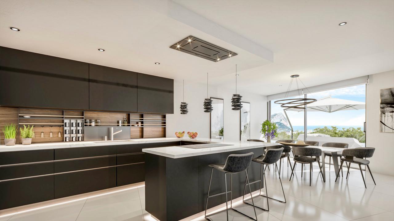 New build Villa For New build in Benissa, Alicante (Costa Blanca)